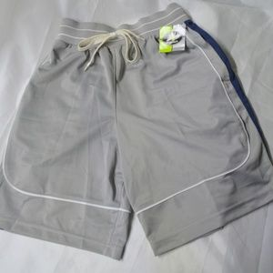 Men Small Gray Athletech Shorts